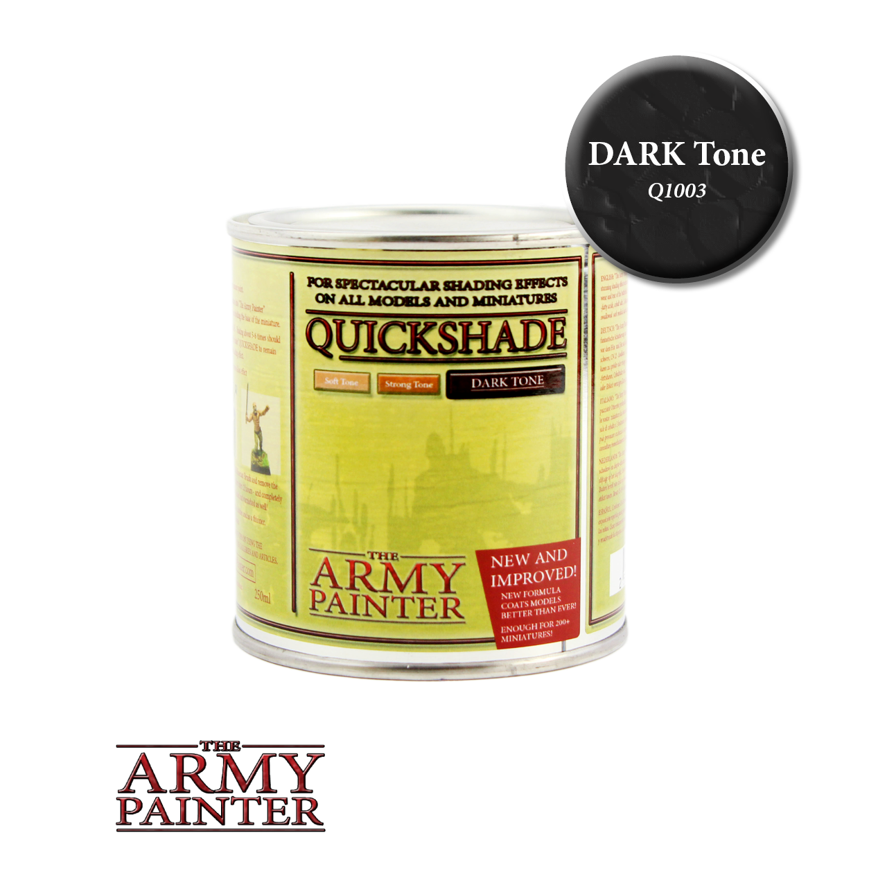 quickshade dark tone