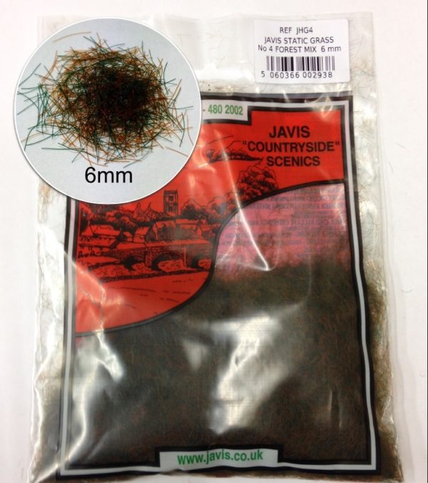 6mm forest static grass