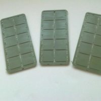 25mm x 25mm square bases
