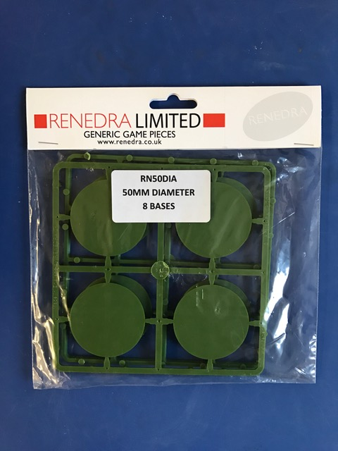 50mm Round Bases