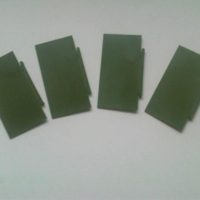 50mm x 100mm Rectangular Bases