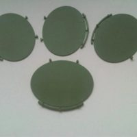 large oval bases