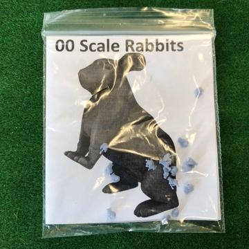 OO scale rabbits